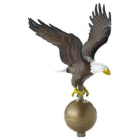 Large Flagpole Eagle, Color