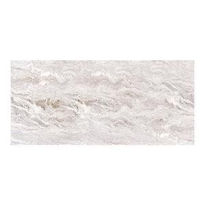 Marble Vinyl Sticker, Grey, 205x95 cm