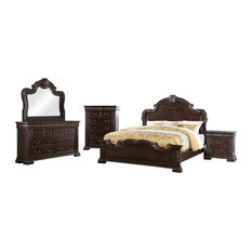 Africa Bedroom Collection 5-Piece King Set