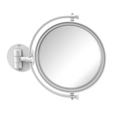 """8"""" Wall Mounted Make-Up Mirror 4X Magnification"""