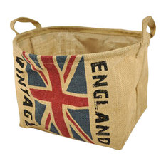The British Flag Design Household Essentials Laundry Basket