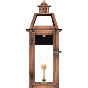 Nouveau Gas Lantern Traditional Outdoor Wall Lights