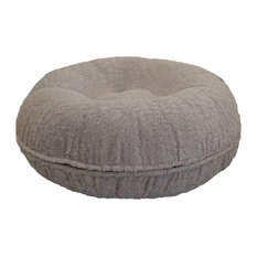 Bessie and Barnie - Bessie and Barnie Bagel Bed, Serenity Grey, Extra Small - Dog Beds