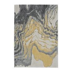 Weave & Wander Milania Rug, Slate, 5'x8'
