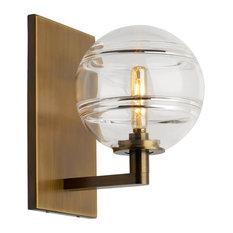 Tech Lighting Sedona Wall Light, Aged Brass, 5 Watt