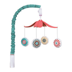 trend lab waverly baby by trend lab pom pom play musical mobile baby mobiles