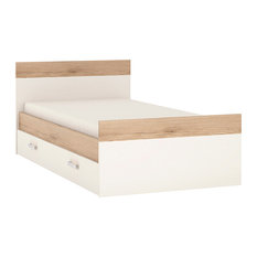 For Kids Single Bed Frame With Drawer, Opal