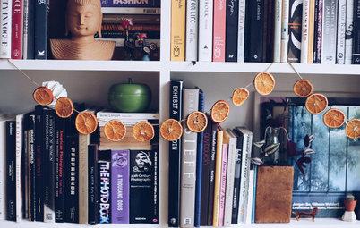 Gør det selv: Juleguirlande af velduftende, tørrede appelsiner