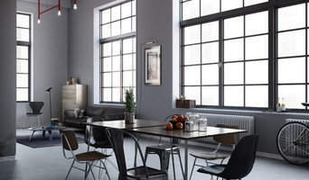 CGI Interior - modern dining area