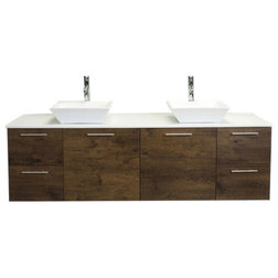 Contemporary Bathroom Vanities And Sink Consoles by Eviva LLC