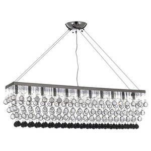Modern Crystal Rain Drop 11-Light Chandelier