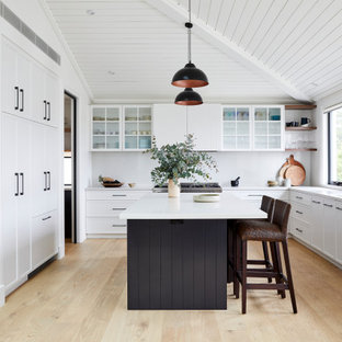 Clovelly Hamptons Kitchen