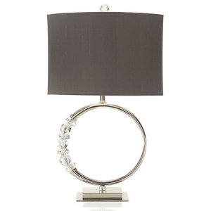 "John Richard JRL-8718 33""H Circle Of Light Table Lamp"