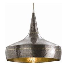 Hammered Metal Pendant Lights | Houzz