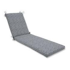 Out/Indoor Herringbone Chaise Lounge Cushion 80x23x3, Slate