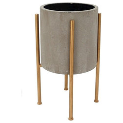 Contemporary Outdoor Pots And Planters by ShopFreely