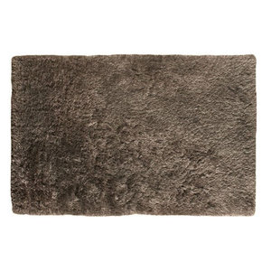 Eva Eva Smoke Rectangle Plain/Nearly Plain Rug 160x230cm