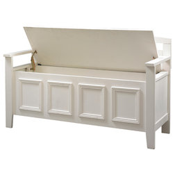 Transitional Accent And Storage Benches by Linon Home Decor Products