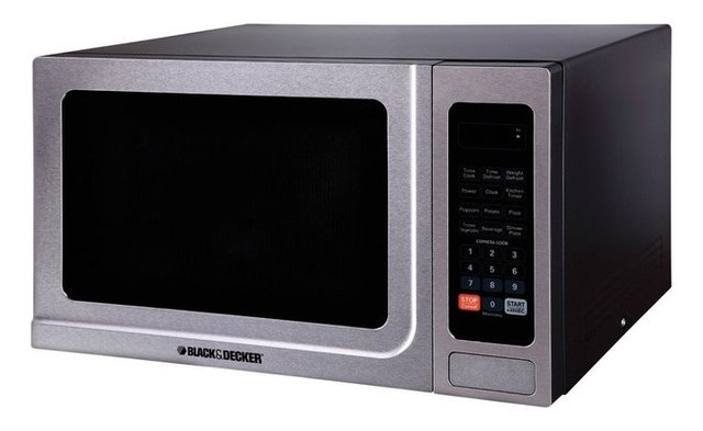 Black And Decker Microwave 1 4 Cu Ft Stainless Steel