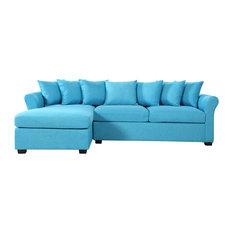 Stupendous Chester 90 Inch Sectional Sofas Houzz Frankydiablos Diy Chair Ideas Frankydiabloscom