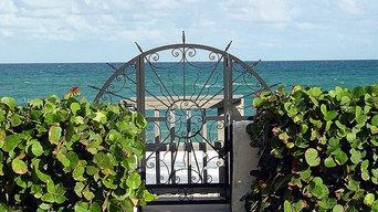 SEASIDE GATE IN PALM BEACH