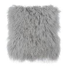 Tibetan Sheep Grey Pillow - Grey