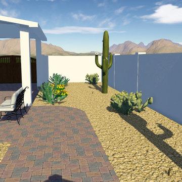 Scottsdale Desert Backyard Renovation