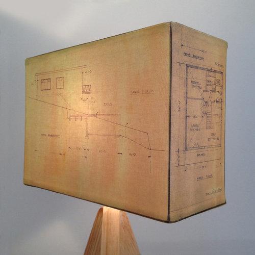 Architectural Plans Lampshades - Lamp Shades