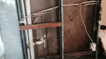 Pipe leak mold remediation