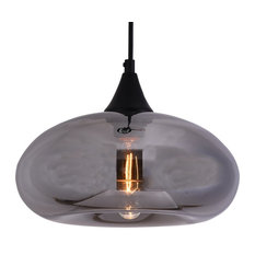 colored glass lighting. Funnelye Inc. - Glass Mirrored Pendant Lamp With Smoky Color  Light Colored Glass Lighting