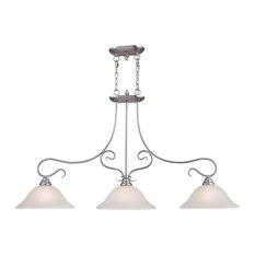Coronado Island Light, Brushed Nickel