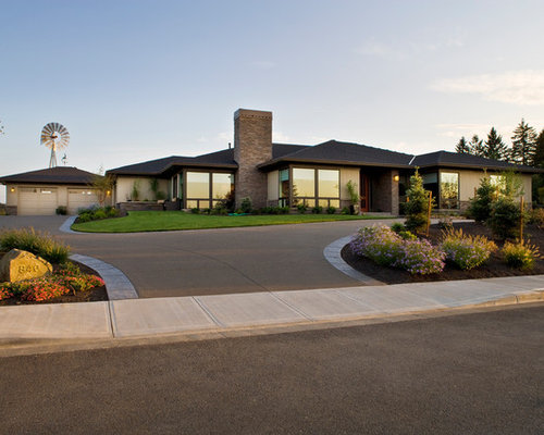 Modern Ranch Exterior Houzz