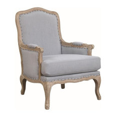 Picket House Furnishings Regal Accent Chair, Light Blue