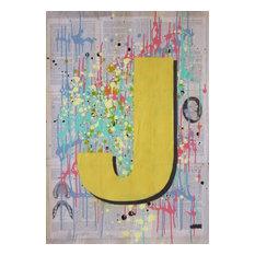 """""""J1"""",Spray Paint Painting"""