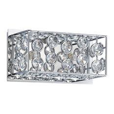 Palazzo Series 2-Light Chrome Bath Light