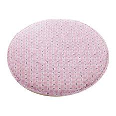 Creative Round Warm Sponge Stool Pad, Pink