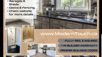 Past projects from Modern Touch Renovations