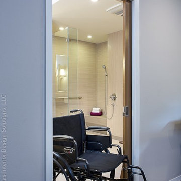accessible, barrier free, aging-in-place, universal design bathroom remodel