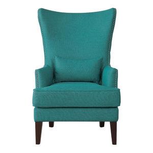 Tremendous Bridgehampton Accent Chair With Nailhead Trim Contemporary Onthecornerstone Fun Painted Chair Ideas Images Onthecornerstoneorg