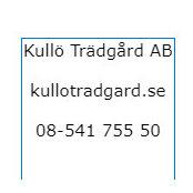 Kullö Trädgård ABs foto