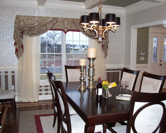 Model Home Dining Rooms model home dining room | houzz
