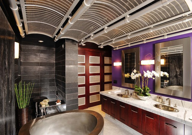 Asian Bathroom By Danenberg Design