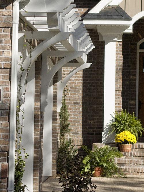 Over Garage Pergola Home Design Ideas Renovations amp Photos