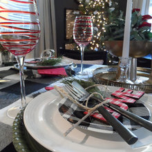 WINTER HOLIDAY TABLESCAPE IDEAS