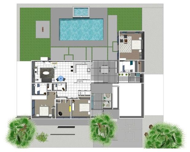 Floor Plan by H3K Design