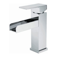 Cetus Waterfall Chrome-Plated Bathroom Sink Mixer Tap