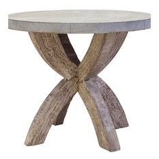 mercana round accent table side tables and end tables