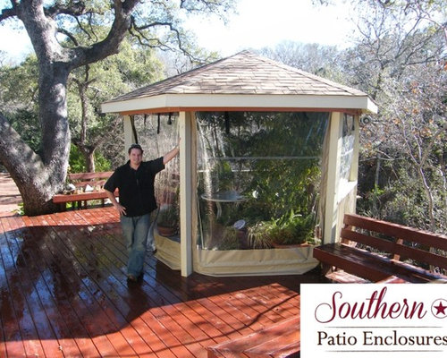 Residential Clear Vinyl Patio Enclosure Curtains By Southern Patio  Enclosures   Greenhouses