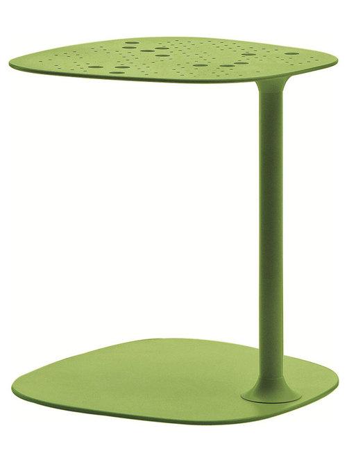 Aikana Sidobord H42cm, Acid Grön - Sideborde & aflastningsborde