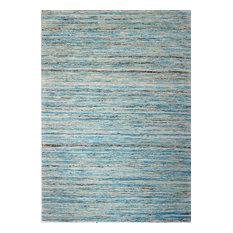 Bashian Whitney Area Rug, Light Blue, 7.6'x9.6'